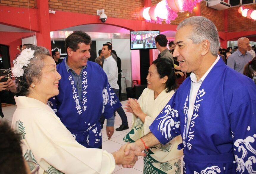 Governador Reinaldo Azambuja assumiu o compromisso de apoiar a cultura japonesa
