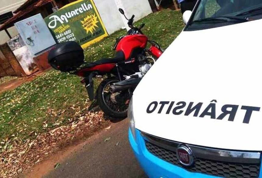 Motociclista de 58 anos pilotava Honda Fan envolvida no acidente - Foto: Márcio Rogério/Nova News