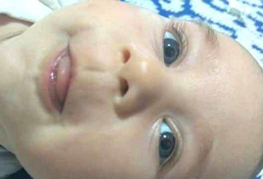 Bebê foi morto pelo próprio pai em Goiás Foto: Facebook/Reprodução