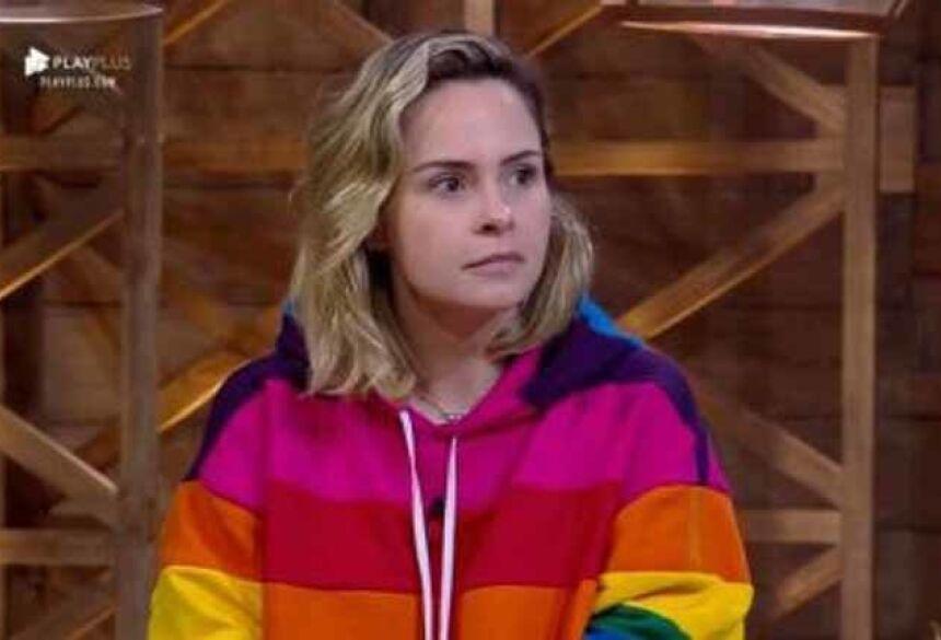 Ana Paula foi eliminada de 'A Fazenda 10' (Crédito: Reprodução/Record TV)