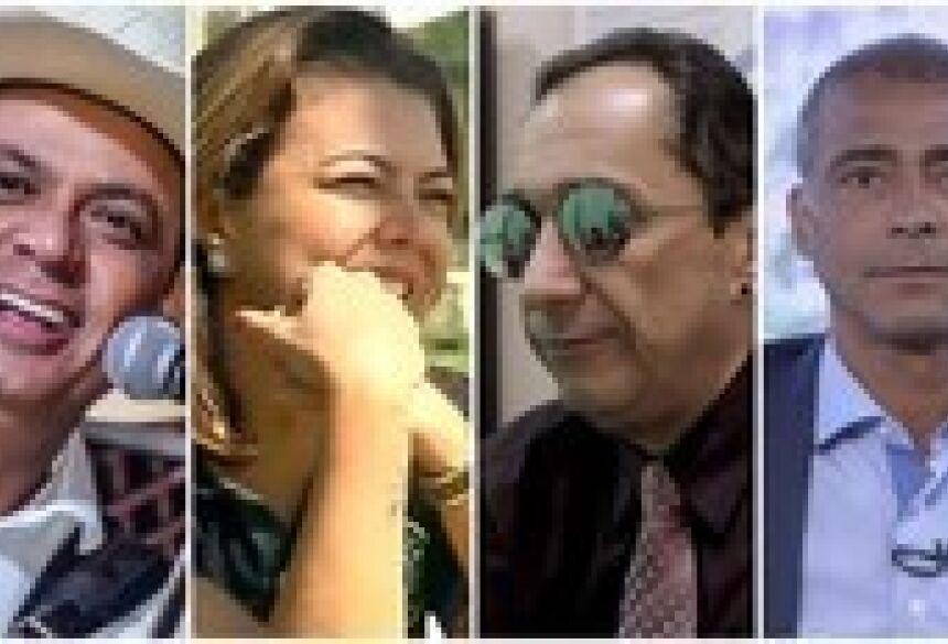 Resultado de imagem para famosos que se deram bem e que se deram mal no 1º turno das eleições 2018