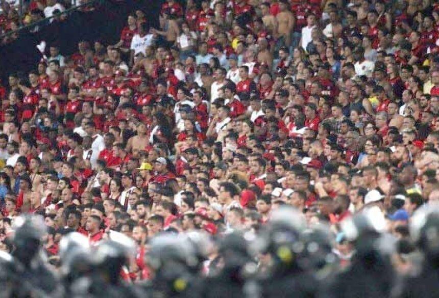 Torcida do Flamengo vai lotar o Maracanã Foto: Ricardo Moraes / Reuters