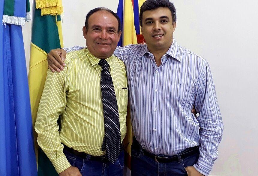 Créditos: Foto e Texto – Demerval Nogueira - Miltinho e Sacolão querem melhorias no Novo Pinheiro