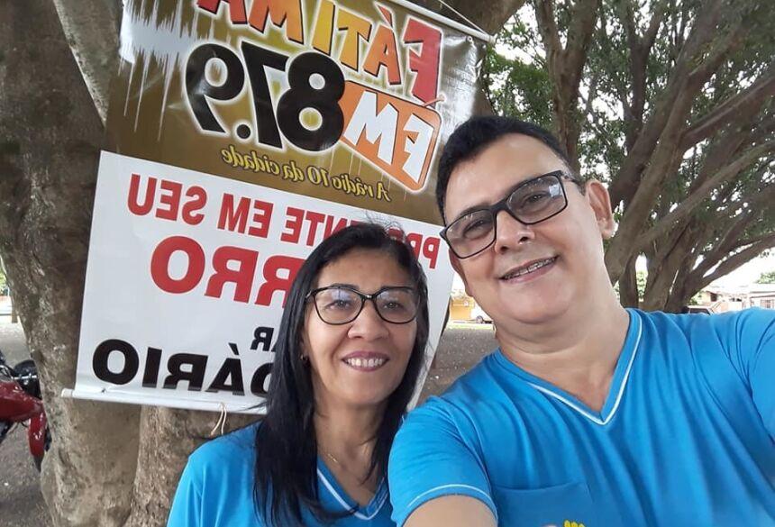 FÁTIMA DO SUL: 17° Bazar Solidário da Fátima FM, teve corte de cabelo e aferição de Pressão gratuito