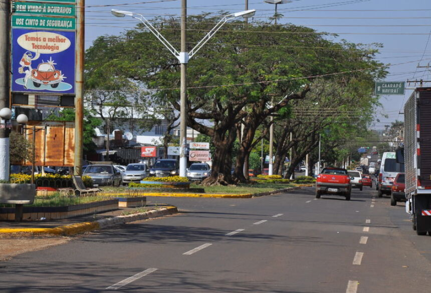 Uma das principais ruas de Dourados, Hayel Bon Faker será totalmente revitalizada – A. Frota