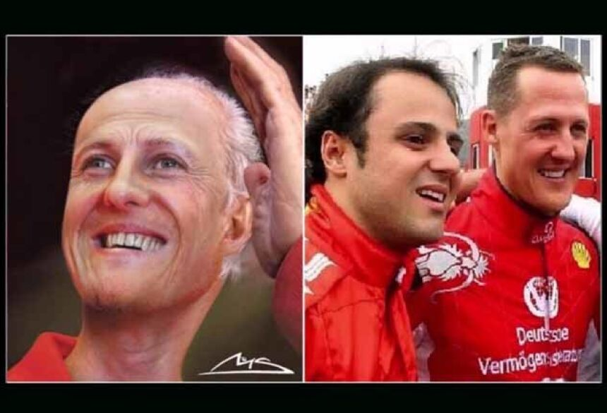 Estado de saúde de Michael Schumacher está cada vez melhor - Reprodução