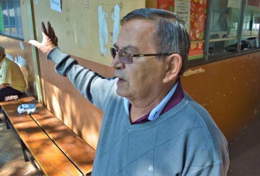 Djalma Barros, coordenador do PAM. - Crédito: Vinicios Araújo/Dourados News