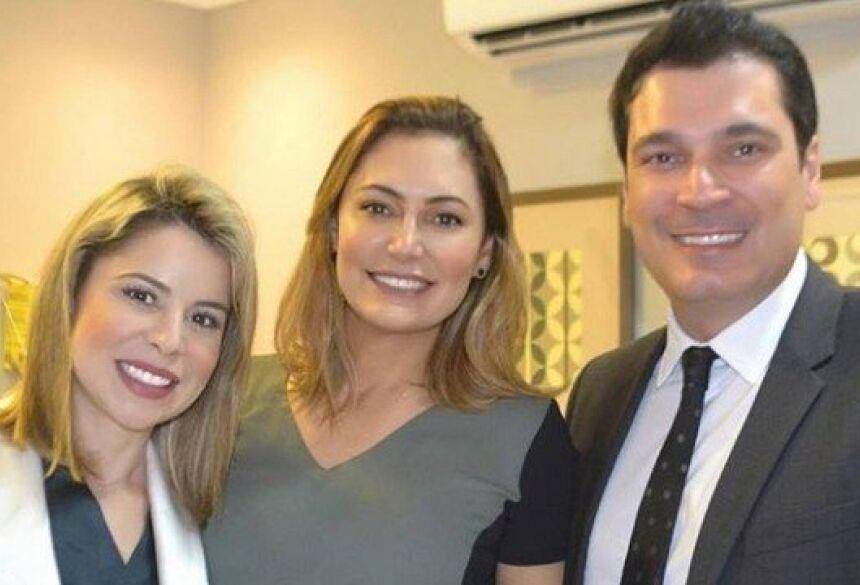 Michelle Bolsonaro consulta dermatologista um mês antes da posse presidencial Foto: reprodução/instagram