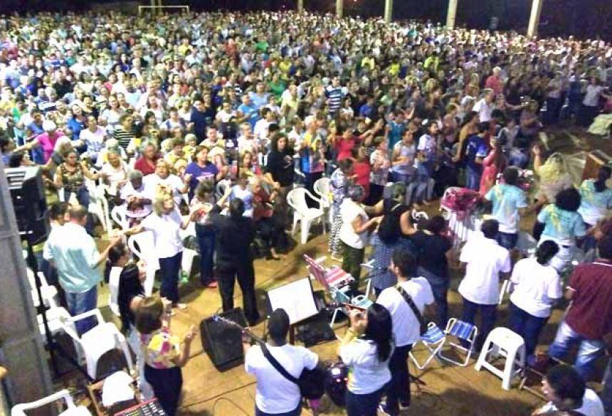 Celebração da Missa em Douradina-MS (facebook)