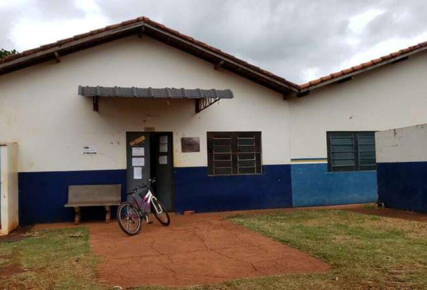 Unidade Básica de Saúde do Jardim Carisma, onde Anahi trabalha há 60 dias sem receber. - Crédito: Divulgação/Dourados News
