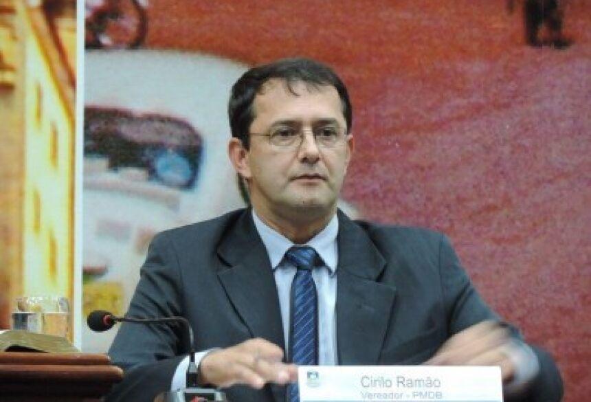 Vereador Cirilo Ramão Ruis Cardoso deve voltar a ser preso por descumprir ordem judicial (Foto: André Bento/Arquivo)