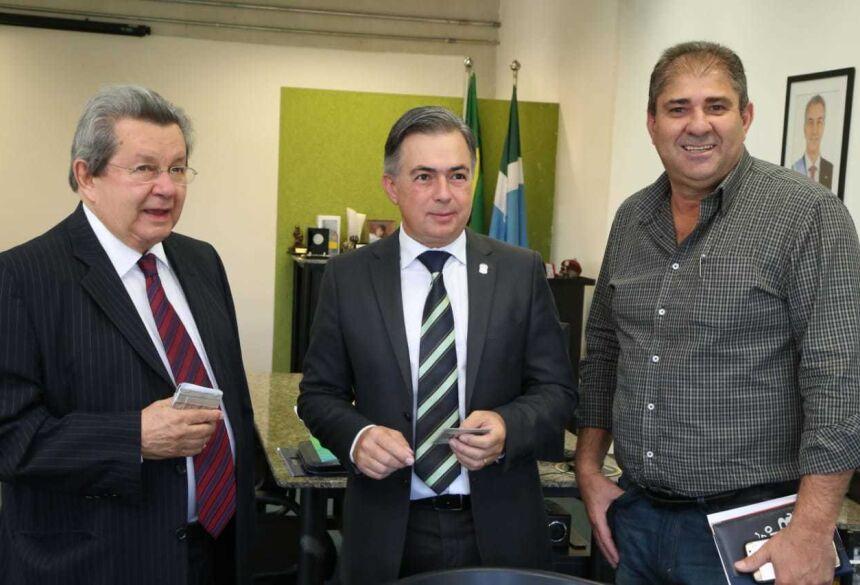 Onevan e prefeito de Novo Horizonte do Sul fazem reivindicações à Sejusp