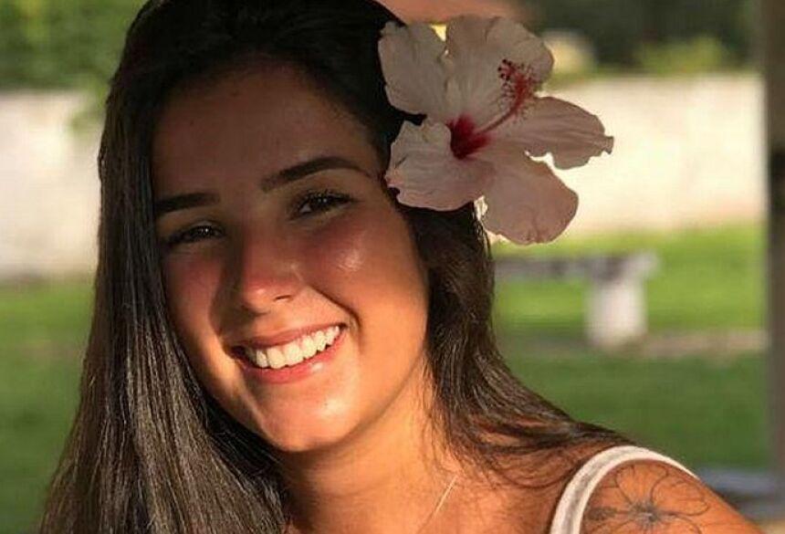 Maria Fernanda estava nos bastidores de evento (Foto: Reprodução)