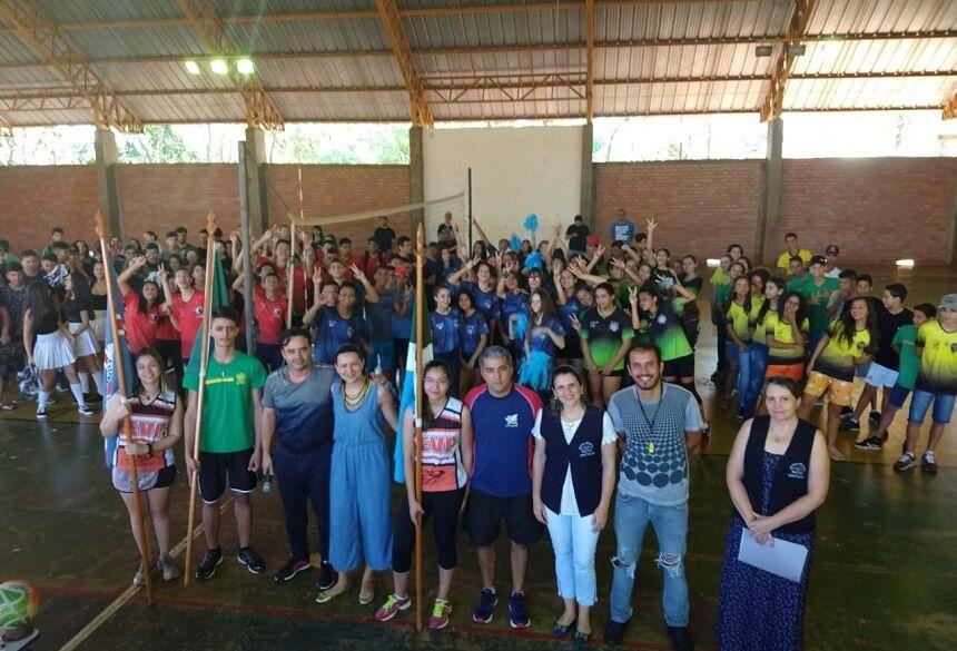 Em Fátima do Sul, jogos Interclasse movimenta Escola Vicente Pallotti nesta sexta, VEJA FOTOS