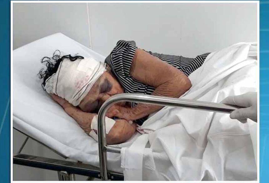 Raimunda Ferreira Lima, de 81 anos, morreu na noite de terça-feira (23) no Hospital Macrorregional de Coroatá. / Foto: Reprodução/ TV Mirante