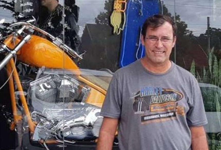 Paulo Settervall, de 57 anos, estava a passeio pela cidade e foi esfaqueado (Foto: Divulgação) Le