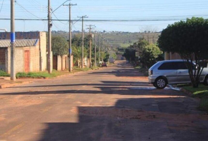 O crime ocorreu na rua rua Dorcelina Folador, no bairro Tarsila do Amaral