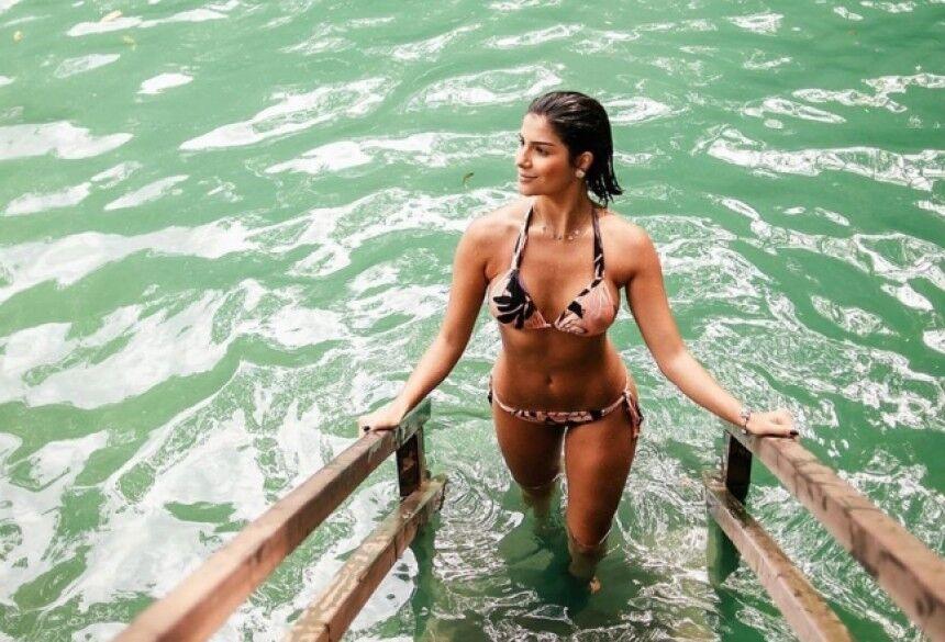 MIss Brasil Be Emotion Júlia Horta em passeio pelas águas de Bonito