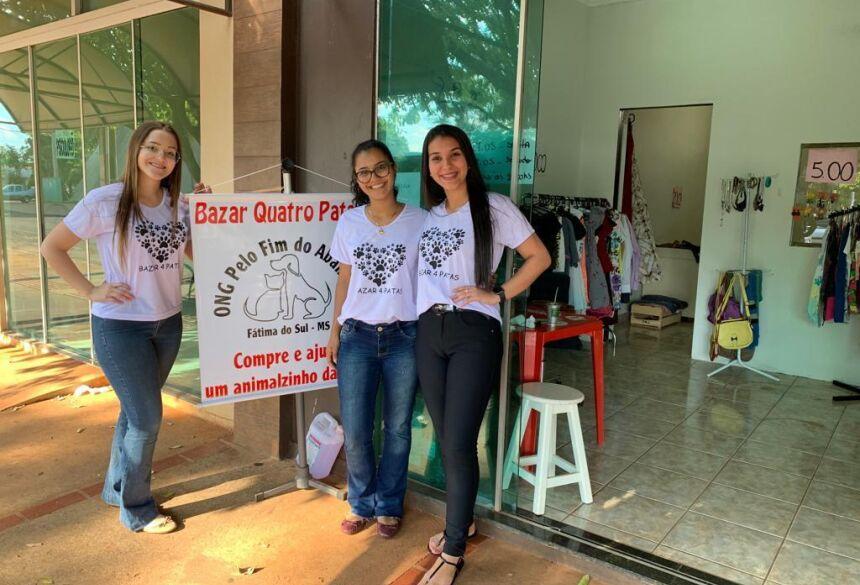 Bazar 4 Patas em Prol da Ong pelo Fim do Abandono dos animais está acontecendo em Fátima do Sul