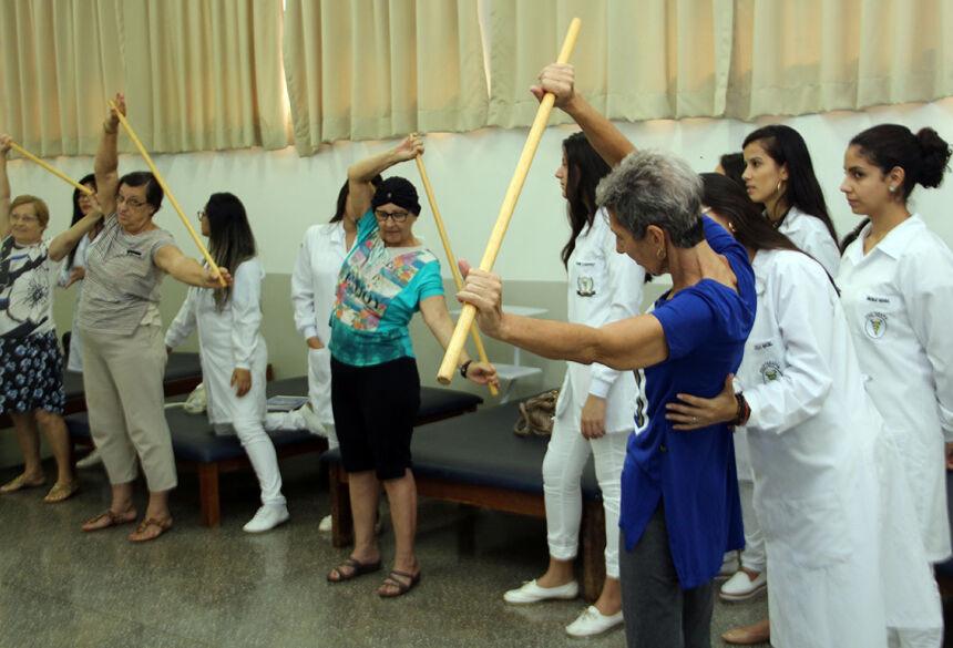 Projeto que acompanha pacientes oncológicos é feito por acadêmicos de Fisioterapia da UNIGRAN