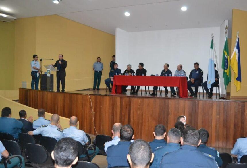 Barbosinha participa da troca de comando da 9ª Companhia Independente da PM de Dourados