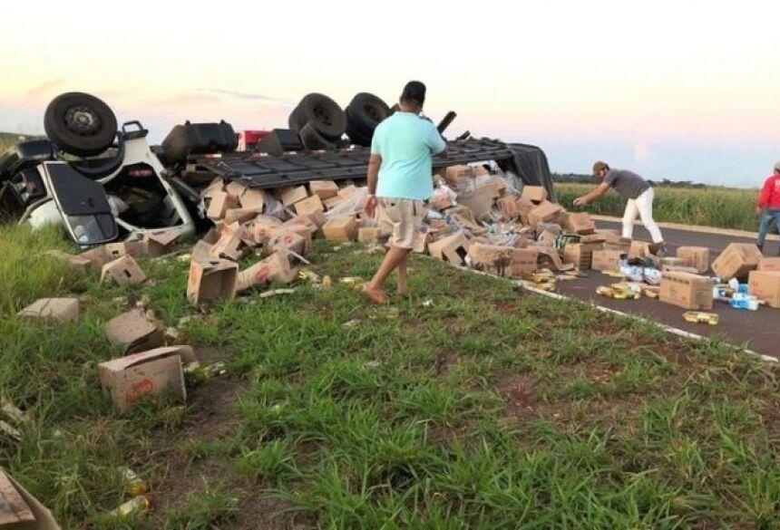 Condutor morreu com o acidente Foto: Maracaju Speed
