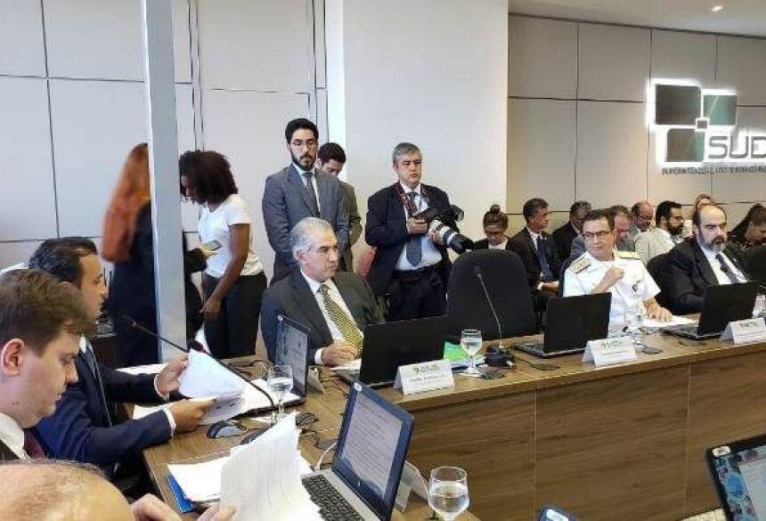 Governador participou Conselho Deliberativo da Superintendência do Desenvolvimento do Centro-Oeste (Condel-Sudeco)