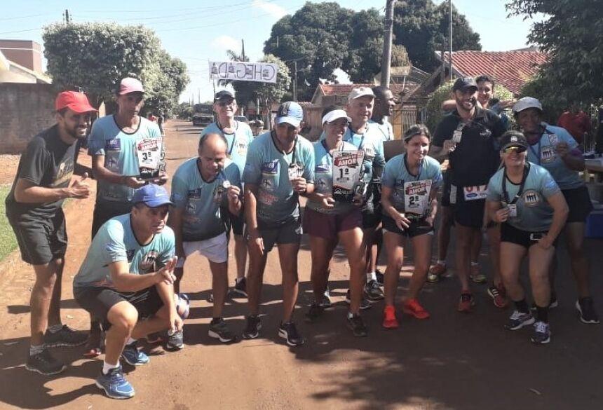 Diego Carcará parabeniza maratonistas e pede mais apoio ao esporte em Fátima do Sul