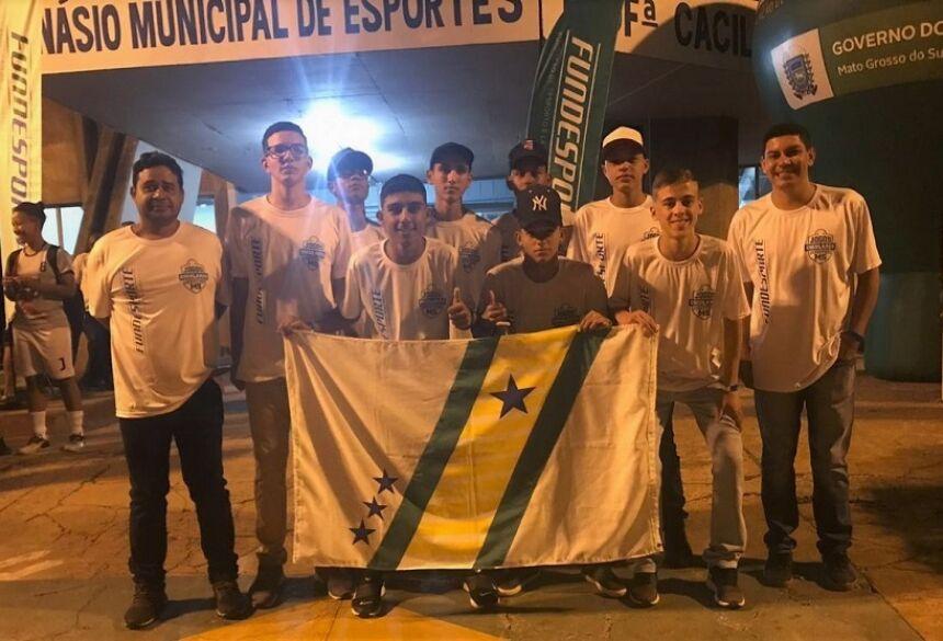 Atletas Vicentineses já se encontram em Três Lagoas para os jogos escolares da Juventude