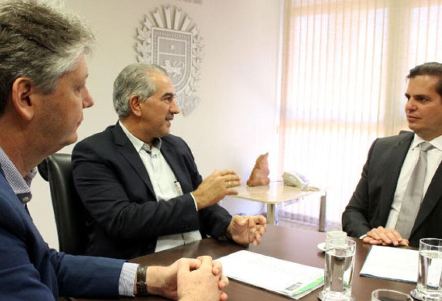 Jaime Verruck, Reinaldo Azambuja e André Pepitone trataram do estudo nesta quinta-feira