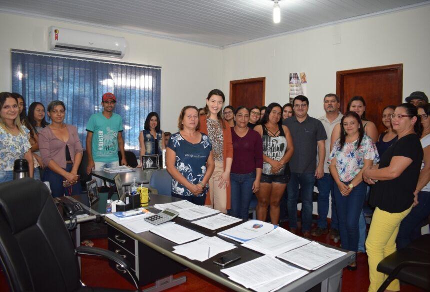 FOTO: EVERTON RICARDO - ASSESSORIA - VICENTINA: Prefeitura e Central energética assinam termo de parceria para Programa Jovem Aprendiz