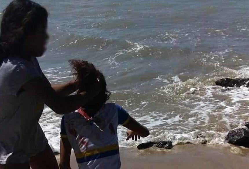 Adolescentes filmaram tortura a menor em Paulista, no Grande Recife — Foto: Reprodução/WhatsApp