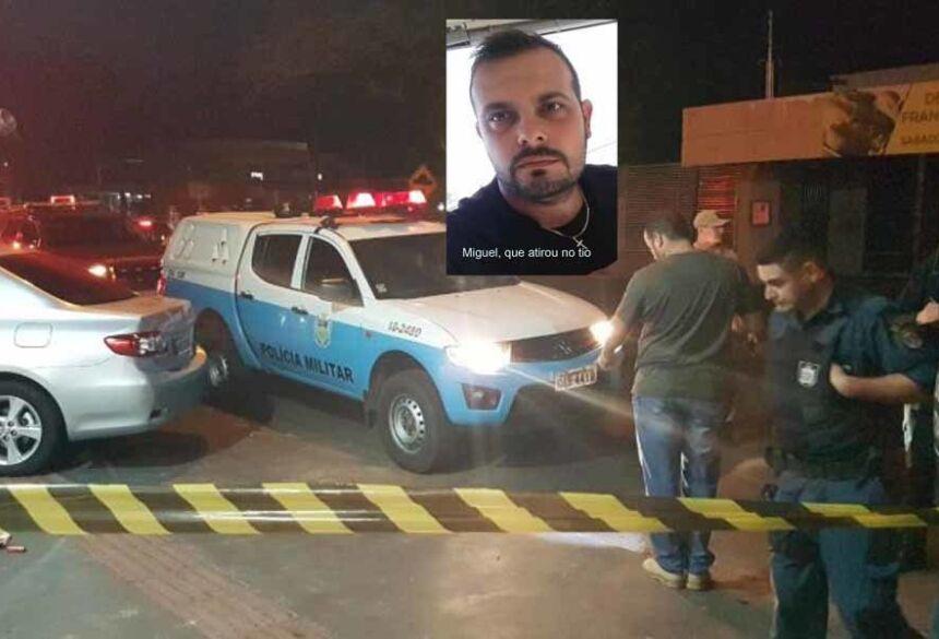 Miguel Arcanjo Camilo Junior, que atirou no tio ao ser cobrado de dívida, segundo apurou a polícia (Foto: Facebook/Reprodução)