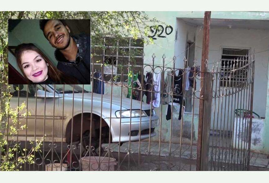 Residência onde o casal foi morto (foto divulgação)