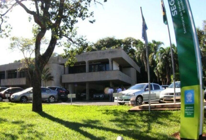 Sede do Governo de MS, em Campo Grande. (Foto: Divulgação/ Governo do Estado)
