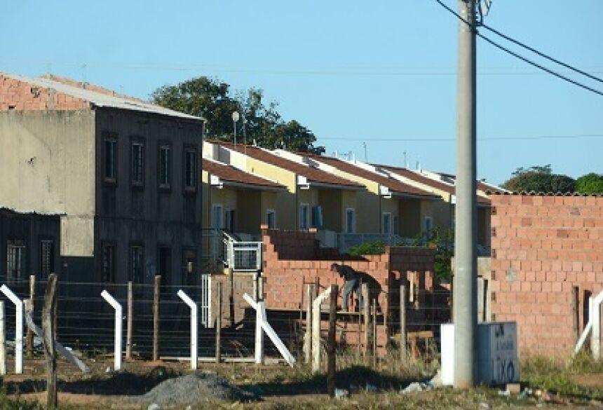 Corpo foi encontrado próximo da área invadida da construtora da Homex no Paulo Coelho Machado - Foto: Arquivo/Correio do Estado