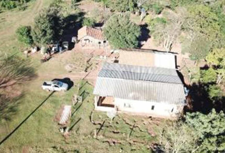 Fazenda era usada como entreposto do tráfico - Foto: Divulgação/Polícia Civi