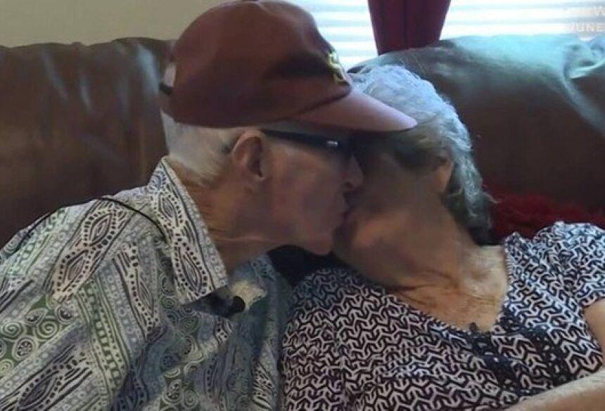 Herbert e Marilyn Frances em 2018 Foto: Reprodução/WRDW