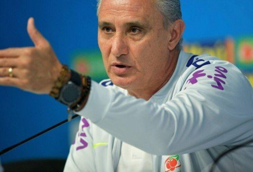 Tite convocou seleção brasileira para amistosos com novidades Foto: CARL DE SOUZA / STF