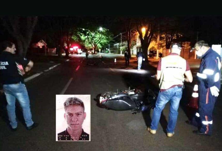 Acidente ocorreu por volta de 4h da madrugada de hoje na Hayel Bon Faker, em Dourados; vítima tinha 28 anos.