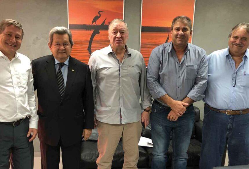 Onevan e Marcílio pedem ao TRE/MS biometria em Novo Horizonte do Sul