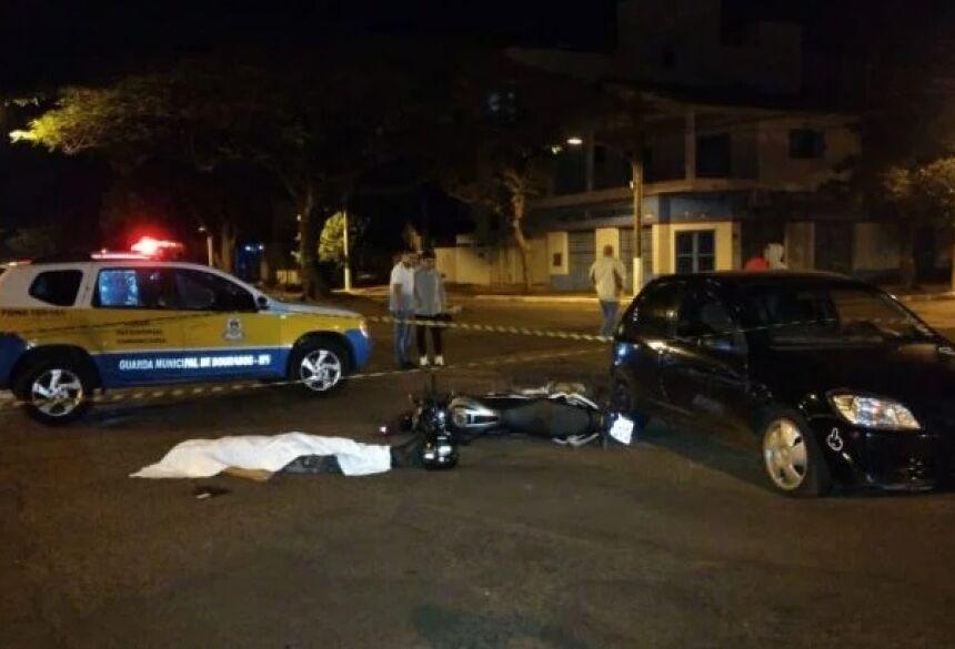 Marcos Antônio Ferraz Lopes Filho, 17 anos, morreu na madrugada deste sábado (10) após tentar atirar em guardar municipais durante uma tentativa de fuga na cidade de Dourados