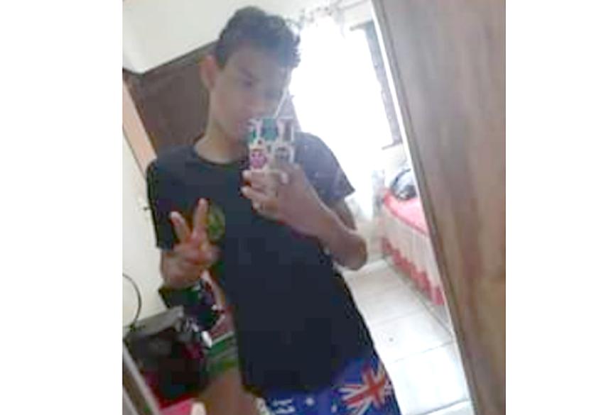 Daniel Veron dos Santos de apenas 13 anos está desaparecido.