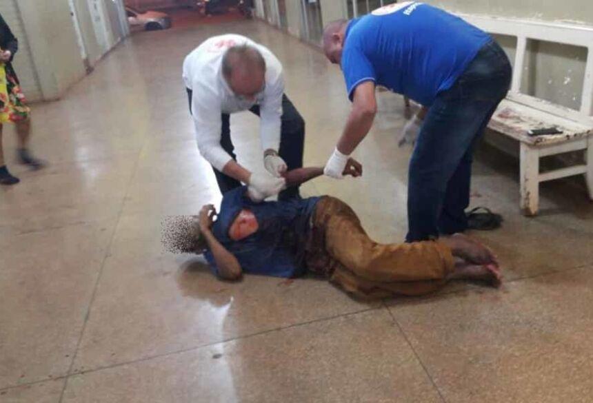 Homem sofre tentativa de homicídio em Itaporã