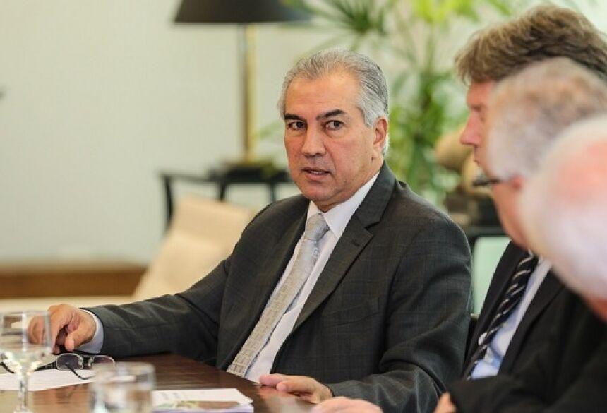 Governador em reunião no Paraná. Foto: Geraldo Bubniak/ANPr