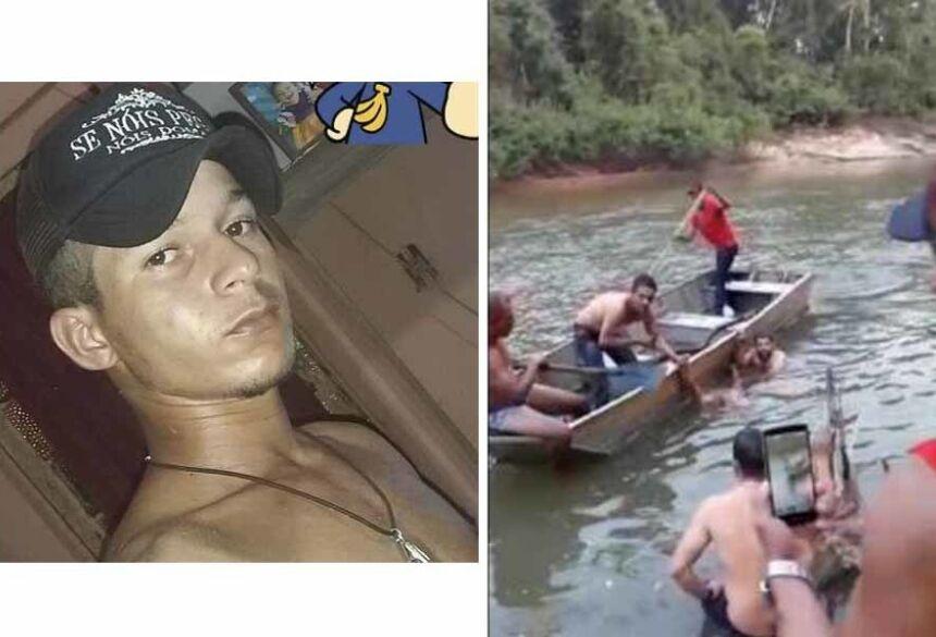 residia no Norte Alta Floresta,o corpo de Valdinei havia sido encontrado em um rio