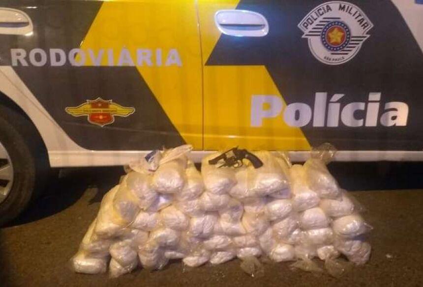Homem é preso em SP após sair com cocaína e arma de Fátima do Sul