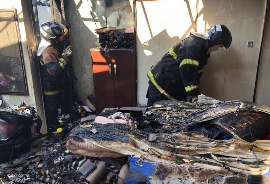 Apesar da intensidade da destruição, nenhuma pessoa se feriu.