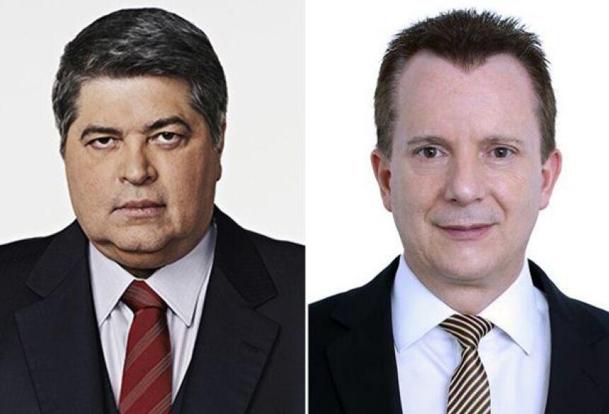 Datena e Russomanno aparecem empatados em primeiro lugar (Imagem: Montagem/RD1)