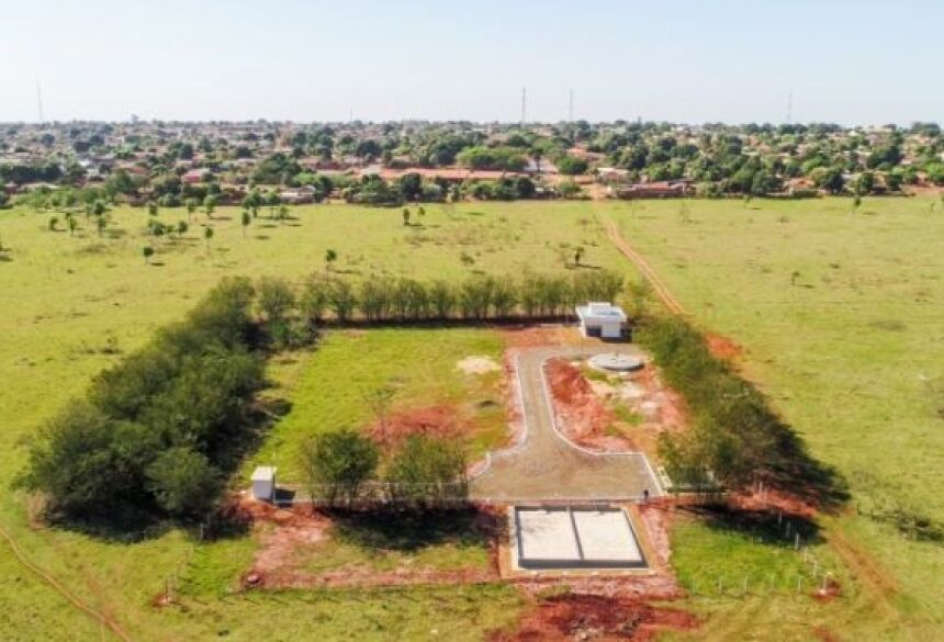 Governo do Estado e Sanesul entregam R$ 3,3 milhões em obras em Deodápolis